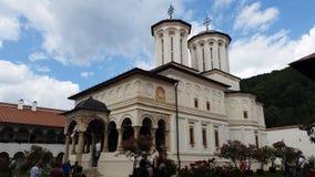 Church of Horezu Monastery. Hurezi Monastery was founded in 1690 by PrinceConstantin Brâncoveanuin the town ofHorezu, Wallachia,Romania. It is Stock Images
