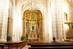 Church of Hornillos del Camino, Spain Stock Photo