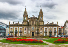 Church and hospital of Sao Marcos, Braga, Portugal Stock Image