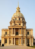 Church of Hotel des invalides Royalty Free Stock Photo