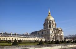 Church of Hotel des invalides, Paris, France Stock Photos