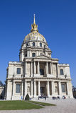 Church of Hotel des invalides, Paris, France Royalty Free Stock Photography