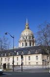 Church of Hotel des invalides, Paris, France Royalty Free Stock Photos
