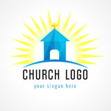 Church house logo Stock Images