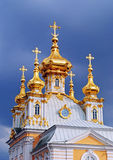 Church housing of the Grand Palace, Peterhof Royalty Free Stock Images
