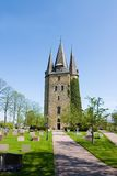 Church in Husaby. Swedish curch in a place called Husaby Royalty Free Stock Photos