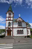 Church of Husavik Stock Image