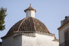 Church in Ibiza City, Balearic Islands Royalty Free Stock Photo