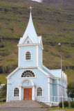 Church in Iceland Royalty Free Stock Image