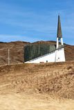 Church in Iceland Royalty Free Stock Images