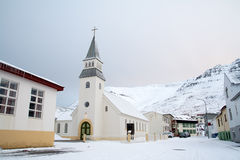Church Iceland Royalty Free Stock Photo