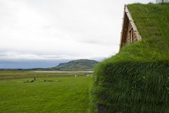Church in Iceland Stock Photo