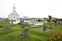 Church in Iceland Stock Image