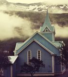 Church in Iceland Royalty Free Stock Photos