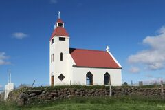 Church in Iceland are small and giving.
