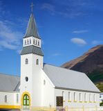 Church on iceland Stock Photography