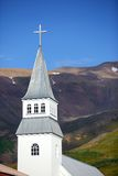 Church on iceland Royalty Free Stock Photography