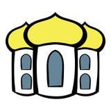 Church icon cartoon Stock Photo
