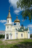 Church of an icon of Kazan divine mother Royalty Free Stock Photography