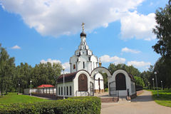Church of the Icon of the Mother of God  Of the Perishing  in Mi. Nsk Stock Photos