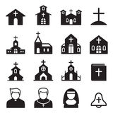 church icon Royalty Free Stock Image
