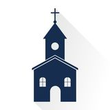 Church icon Royalty Free Stock Photography