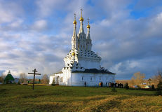 Church of Icon of the Virgin Hodegetria in Vyazma Royalty Free Stock Photo