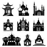 Church icons Stock Images
