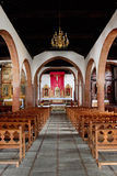 The church Iglesia de Nuestra de la Asuncion Stock Photo