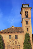 Church Iglesia of Santa Anna Rio Darro Granada Andalusia Spain Royalty Free Stock Photo