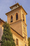 Church Iglesia of Santa Anna Rio Darro Granada Andalusia Spain Stock Image