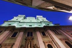 Church of Ignatius in Linz Royalty Free Stock Photo