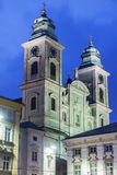 Church of Ignatius in Linz Stock Photo