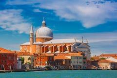 Church Il Redentore on Giudecca, Venice, Italia. View from the sea to Chiesa del Santissimo Redentore on Giudecca island, Venice, Italia Stock Photography