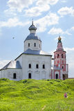 Church of Ilya prophet on Suzdal Stock Images