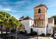 Church of the Imaculate Conception in Mijas Royalty Free Stock Photo