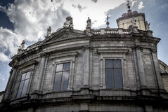 Church, Image of the city of Madrid, its characteristic architec Royalty Free Stock Images