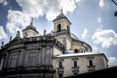 Church, Image of the city of Madrid, its characteristic architec Royalty Free Stock Image