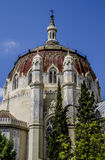 Church, Image of the city of Madrid, its characteristic architec Royalty Free Stock Photography