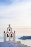 Church in Imegovigli, Santorini Royalty Free Stock Photography