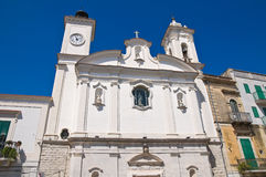 Church of Immacolata. Minervino Murge. Puglia. Italy. Royalty Free Stock Images