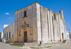 Church of Immaculate. Felline. Puglia. Italy. Stock Photo