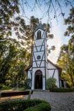 Church at Immigrant Village Park & x28;Parque Aldeia do Imigrante& x29; - Nova Petropolis, Rio Grande do Sul, Brazil Royalty Free Stock Image