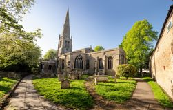 Free Church In Cambridgeshire England Stock Photography - 122120952