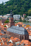 Church In Heidelberg Stock Photo