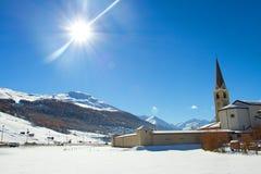 Free Church In Livigno Royalty Free Stock Photo - 36641155