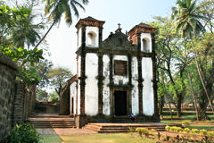 Free Church In Old Goa City Royalty Free Stock Photo - 25571665