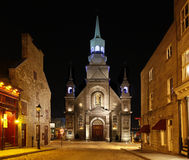 Free Church In Old Montreal, Quebec, Canada Stock Images - 13608524