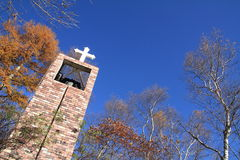 Free Church In The Forest Of Kiyosato Royalty Free Stock Photography - 82888267
