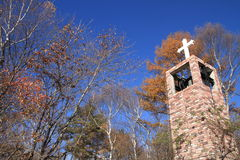 Free Church In The Forest Of Kiyosato Royalty Free Stock Image - 82888936